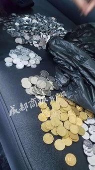 老师离职后收到10000枚硬币押金,校方为表达我们的不满
