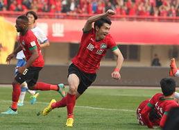 2013年中甲联赛第29轮河南建业提前夺冠重返中超