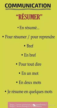 形容法语的句子