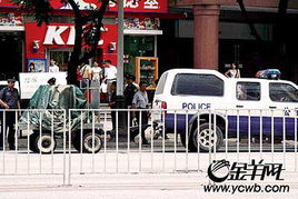 广州一公交车发现可疑物乘客惊呼有炸弹
