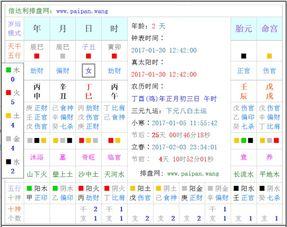 出生时辰五行查询入口(五行缺什么查询系统,怎么根据出生年月日和时