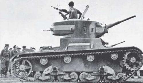 ▲西班牙共和军装备的苏制t-26轻型坦克,该坦克在性能上几乎碾压国民军装备的一号轻型坦克和cv-33超轻型坦克,但是由于战术原因,技术占优的t-26轻型坦克也遭遇了痛击从仿制起步的t-26t-26轻型坦克的诞生还得追溯到那场遍及全球各地的经济大