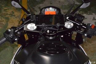 KTM RC390 小改装 导航支架