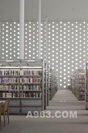 建筑欣赏 日本金泽Umimirai图书馆设计