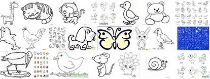 简单的小动物怎么画