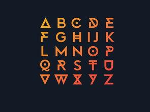 特殊英文字体安装文件
