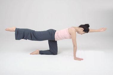 调理腰椎变直的瑜伽