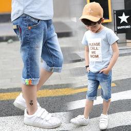 儿童裤子裁剪图片