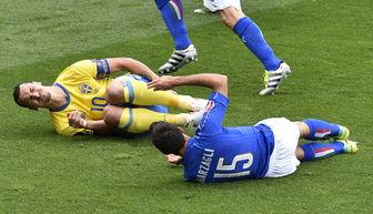 欧洲杯E组 意大利VS瑞典