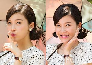 杨子珊复古发型怒刷时髦值