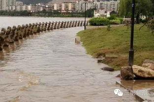 福建部分河流发生洪水 未来三天局部有大暴雨