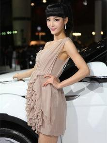中国车展史上 最出位 的车模TOP 5