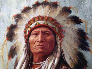 最伟大的印第安人酋长 坐牛 六