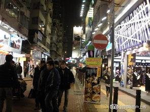 香港旺角的照片