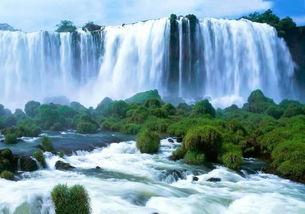 描写龙王潭瀑布的优美句子