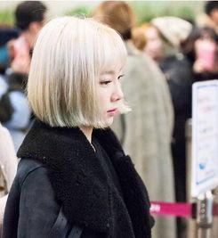 短发女神金泰妍发型火爆韩国