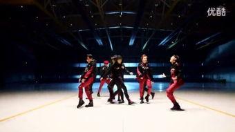 exo舞蹈mv C