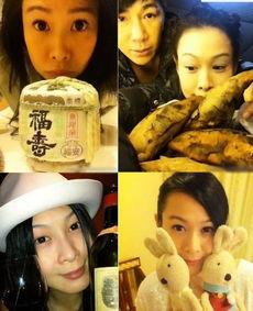 奶茶妹妹刘若英私房自拍,卖萌还是很在行的!