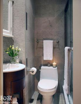 20图突破空间极限 看3 7平米小浴室如何制胜空间