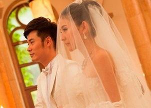 陈赫与老婆许婧结婚照片