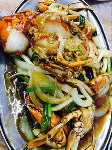 芒果螺:来三亚必点的一道菜,好吃又实惠,建议香辣。