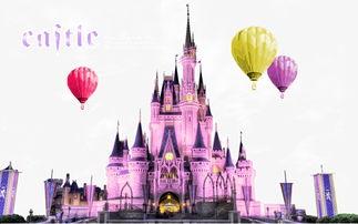 赞美迪士尼城堡的语录