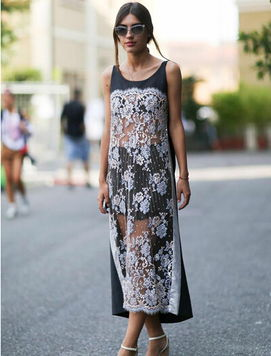 微胖女的夏日穿搭术 H廓型连衣裙藏赘肉