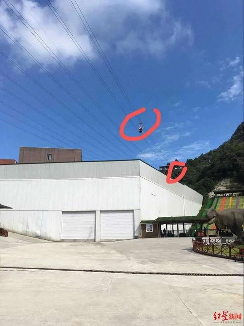 重庆一游客玩高空项目坠落山谷当地旅游局为景区工作人员,已送医