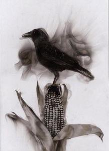 创意烟熏绘画艺术图片