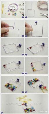 给心爱的香水瓶制作项链坠子的手工制作教程