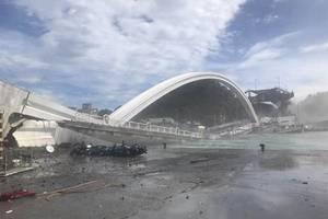 澳跨港大桥断裂是真的吗(港珠澳大桥香港段海底)