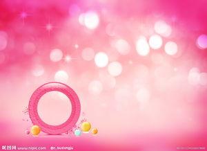 粉红色背景素材图片