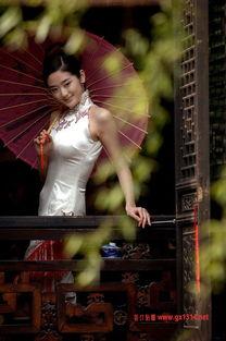 江南旗袍美女 演绎妩媚风情
