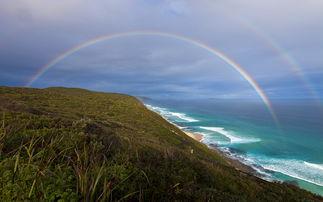 美图秀秀给照片加彩虹