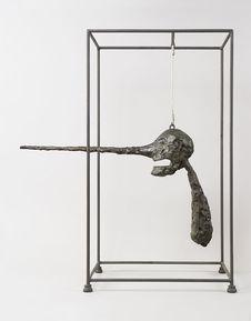 阿尔贝托·贾科梅蒂回顾展现场展品