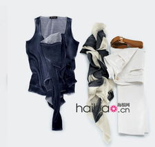 丽人春装 用围巾搭配出来的时尚