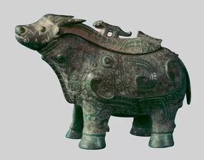 (图)商代青铜牛觥