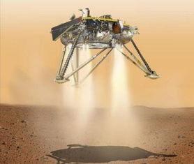 1洞察号无人探测器成功登陆火星