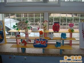 幼儿园活动室布置图片 作品展