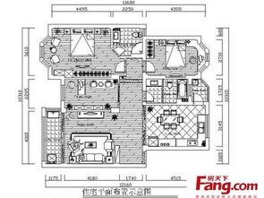 分享三室一厅装修效果图