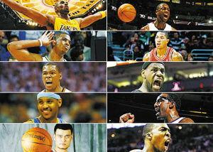 nba全明星阵容(NBA全明星赛的历年阵容)