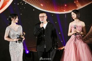 柳岩(左)、岳云鹏(中)、佟丽娅(右)