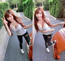 泰国籍日系美女alice生活照诱惑,简单的衣服穿出时尚