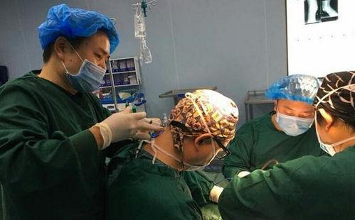 在手术过程中,