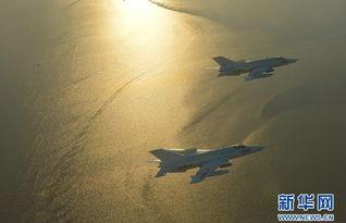 中国空军某师各领导亲驾战机迎敌 师长作战凶猛