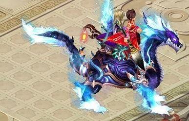 火线逃生 4399 神魔仙界 双人坐骑成功孵化