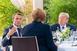 g7峰会,马克龙约翰逊图斯克呼吁避免贸易战