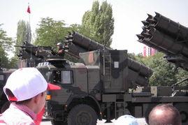 土耳其装备的中国卫士1火箭炮.
