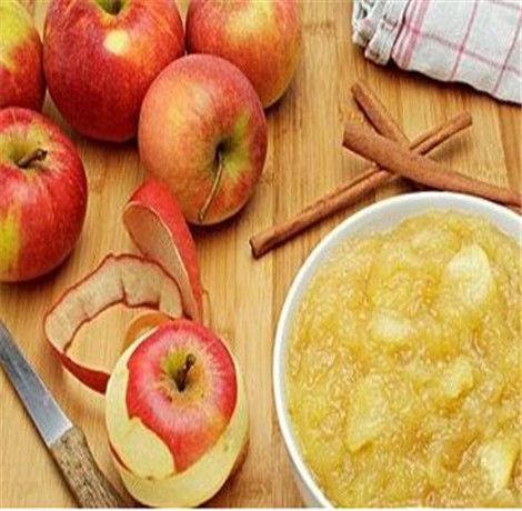 苹果泥能养花