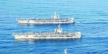 美军三航母